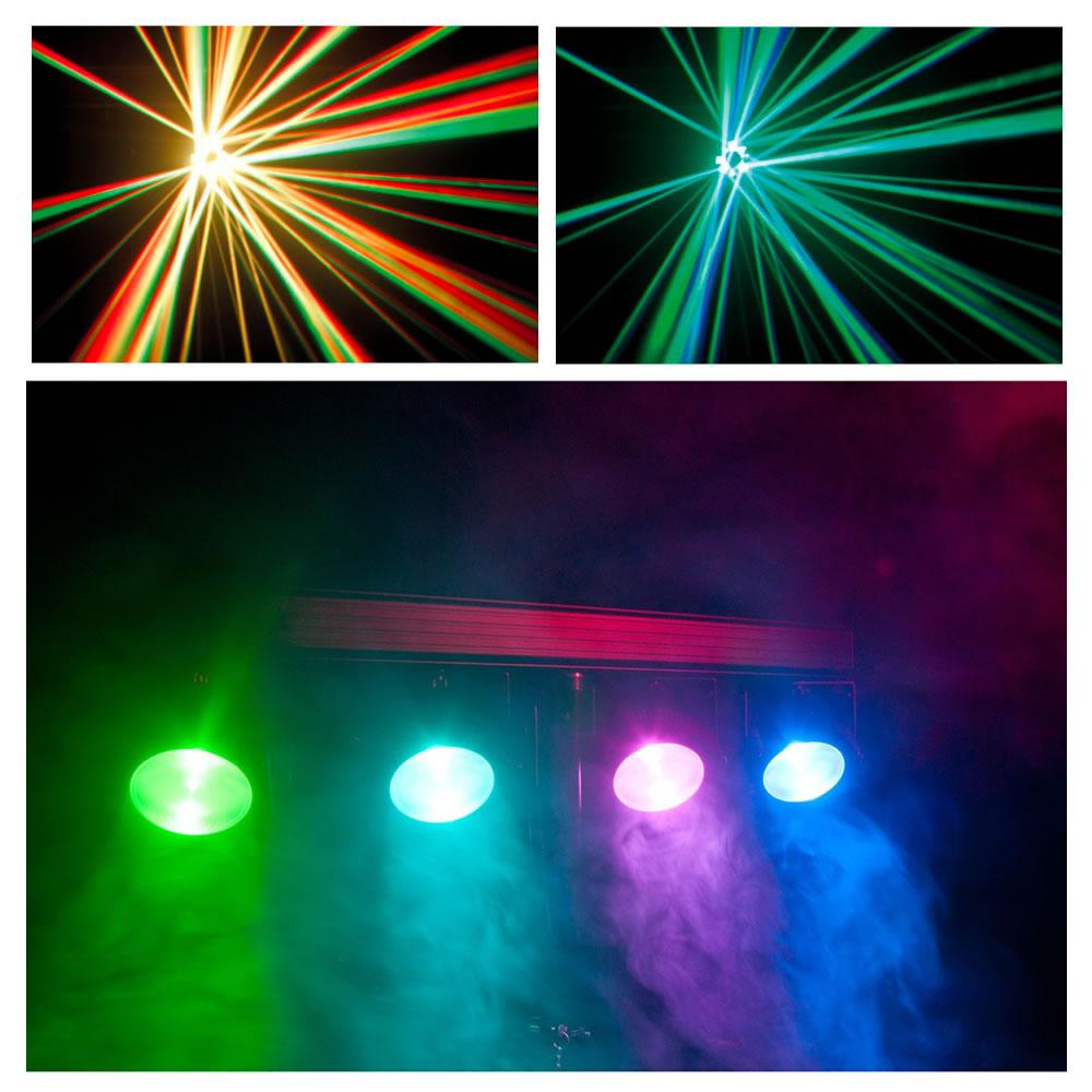 Disco lichtset effect