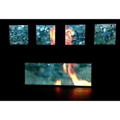 Led scherm bassbunker